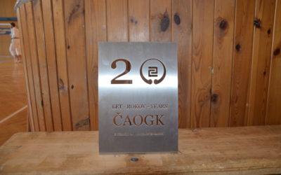 20 Let CAOGK